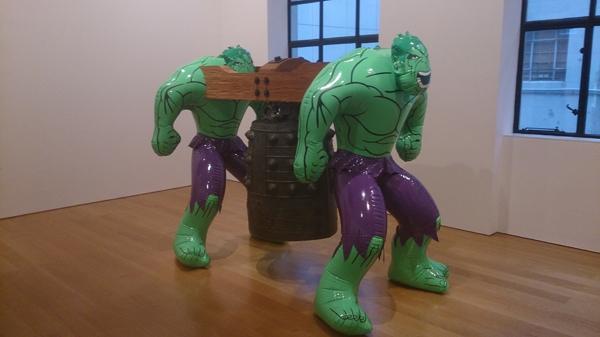 """Jeff Koons """"Hulk Elvis"""""""